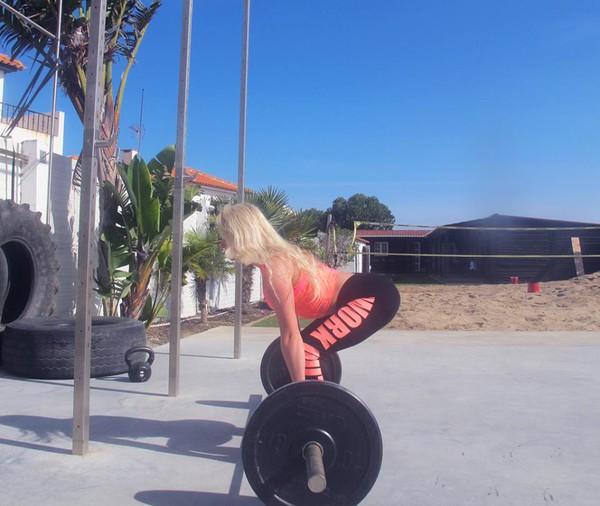 Anna Nystrom tap gym