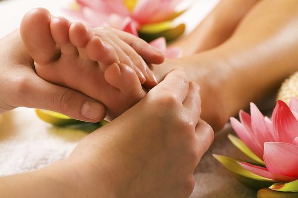 massage bàn chân