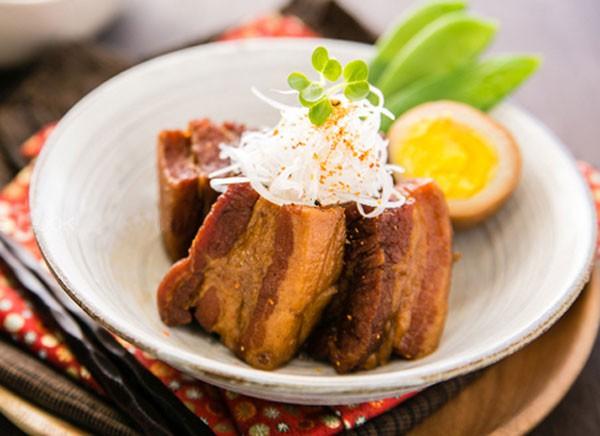 Thịt kho trứng phong cách Nhật mềm thơm tuyệt đỉnh 1