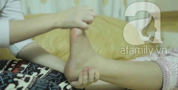 6 động tác mát-xa chân giúp bà bầu tràn đầy năng lượng 1