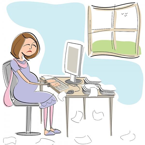 Những cách dùng máy tính ảnh hưởng xấu đến thai nhi 1