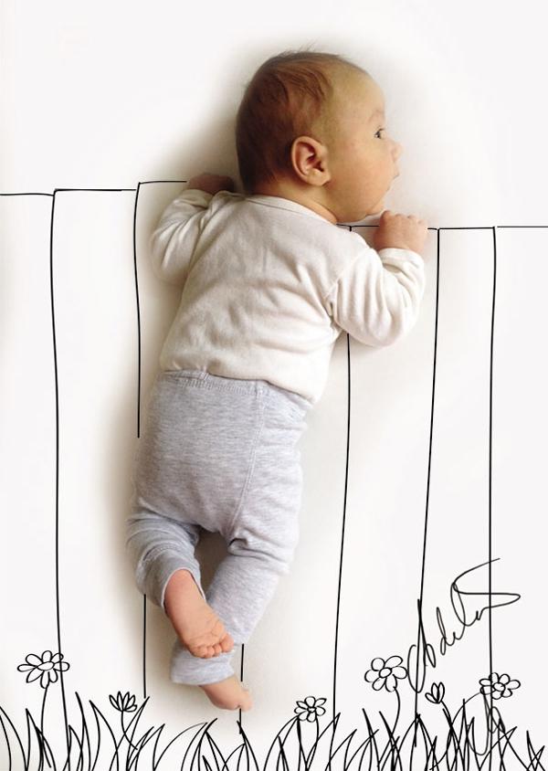 Thêm một bà mẹ biến giấc ngủ của con thành nghệ thuật 2
