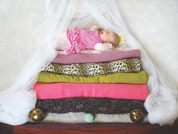 Thêm một bà mẹ biến giấc ngủ của con thành nghệ thuật 3