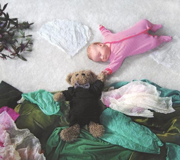 Thêm một bà mẹ biến giấc ngủ của con thành nghệ thuật 4
