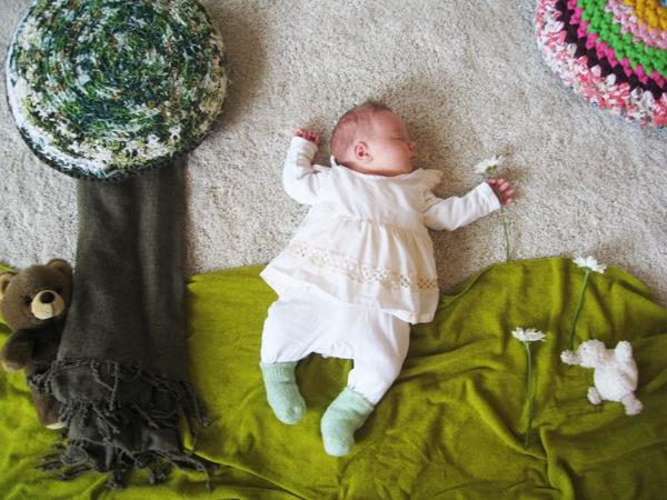 Thêm một bà mẹ biến giấc ngủ của con thành nghệ thuật 7