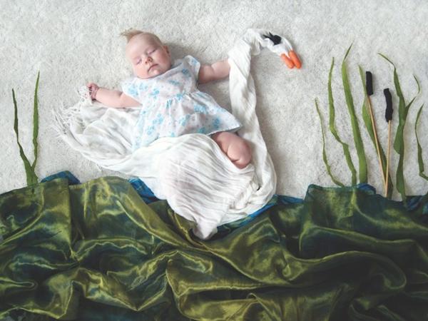 Thêm một bà mẹ biến giấc ngủ của con thành nghệ thuật 9