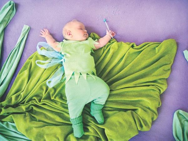 Thêm một bà mẹ biến giấc ngủ của con thành nghệ thuật 10