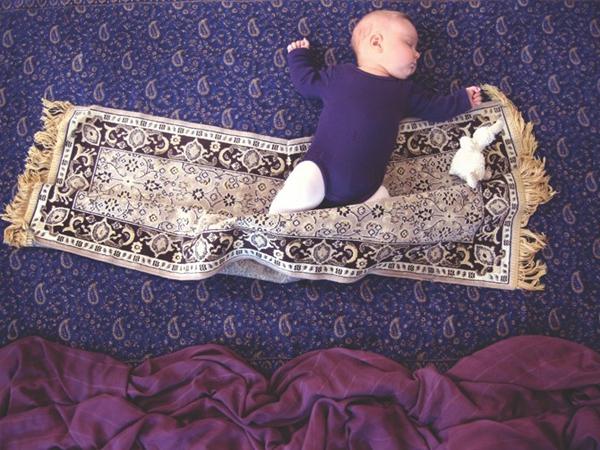 Thêm một bà mẹ biến giấc ngủ của con thành nghệ thuật 11