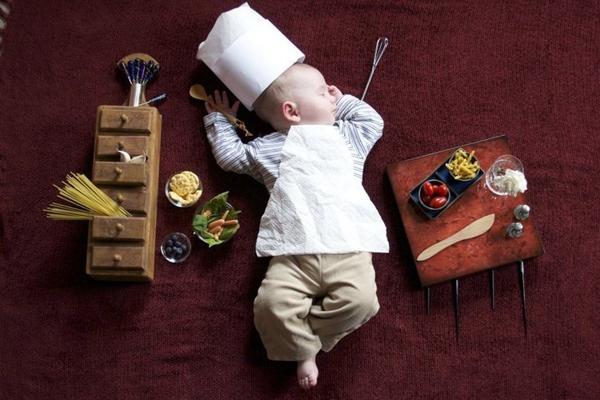 Thêm một bà mẹ biến giấc ngủ của con thành nghệ thuật 14