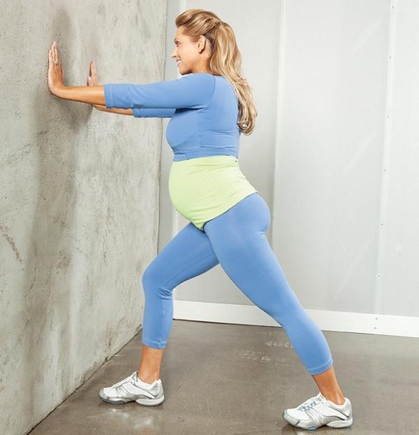 Những động tác giãn cơ tốt cho sức khỏe mẹ bầu 4