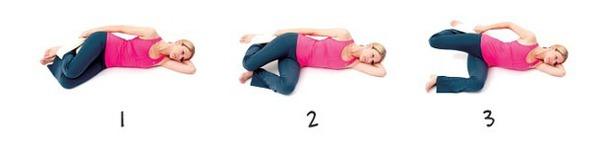 Những động tác giãn cơ tốt cho sức khỏe mẹ bầu 6