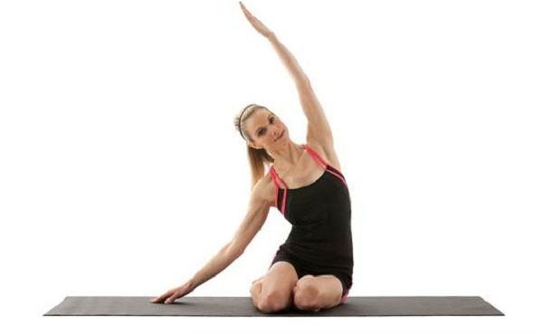 Những động tác giãn cơ tốt cho sức khỏe mẹ bầu 5