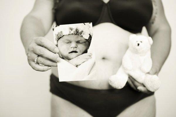 Những hình ảnh thật đến từng cen-ti-mét về cơ thể phụ nữ sau sinh 4