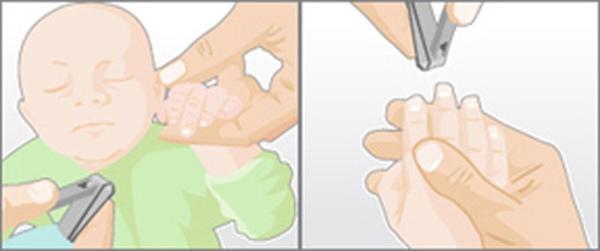 Mách mẹ vài mẹo cắt móng tay cho bé an toàn 2