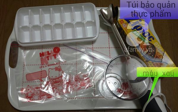 Học cách chế biến ăn dặm kiểu Nhật cực nhàn của mẹ Việt ở Tokyo (P3) 1