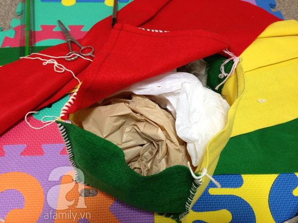 Mẹ Việt ở Nhật hướng dẫn làm đồ chơi phát triển trí tuệ cho con 6