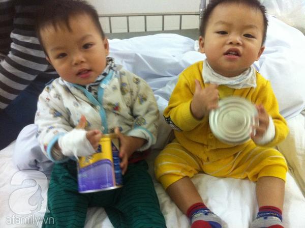 Kinh nghiệm quý báu của bà mẹ có hai con bị tiêu chảy Rota 2