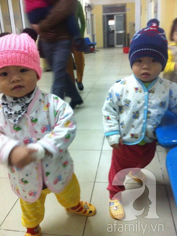 Kinh nghiệm quý báu của bà mẹ có hai con bị tiêu chảy Rota 1