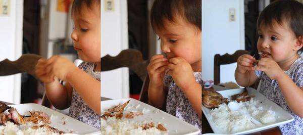 Dạy con biết nhai và tự xúc ăn siêu như mẹ Việt ở Pháp   7