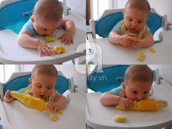 Dạy con biết nhai và tự xúc ăn siêu như mẹ Việt ở Pháp   4