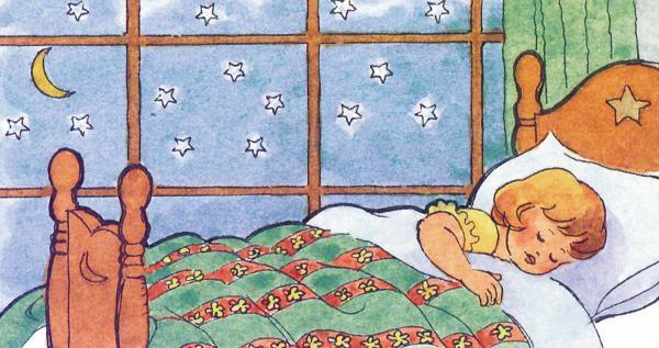 Mẹo hay giúp bé không còn sợ ngủ một mình 1