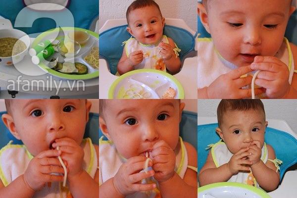 Dạy con biết nhai và tự xúc ăn siêu như mẹ Việt ở Pháp   5