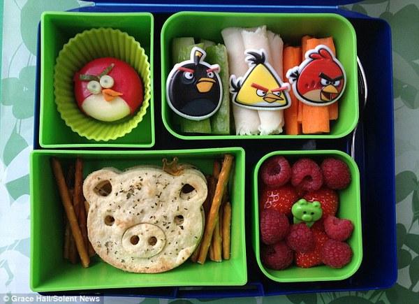 Bà mẹ nổi tiếng vì làm cho con những hộp cơm trưa tuyệt đẹp  1