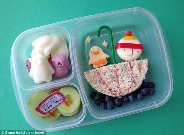 Bà mẹ nổi tiếng vì làm cho con những hộp cơm trưa tuyệt đẹp  12