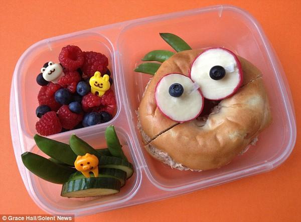 Bà mẹ nổi tiếng vì làm cho con những hộp cơm trưa tuyệt đẹp  13
