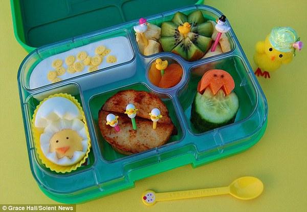 Bà mẹ nổi tiếng vì làm cho con những hộp cơm trưa tuyệt đẹp  14