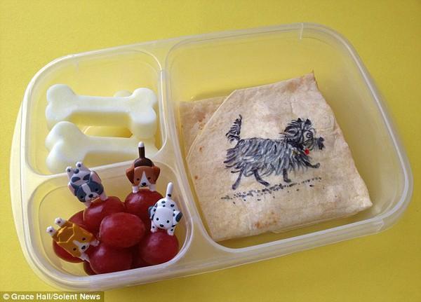Bà mẹ nổi tiếng vì làm cho con những hộp cơm trưa tuyệt đẹp  15