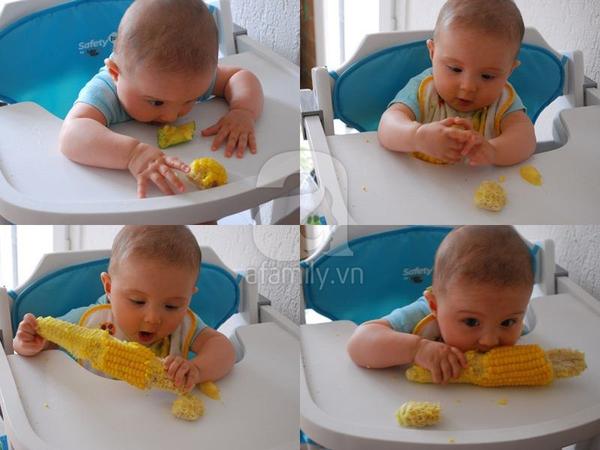 Thực đơn và cách chế biến đồ ăn dặm giai đoạn 4-6 tháng tuổi (P2) 1