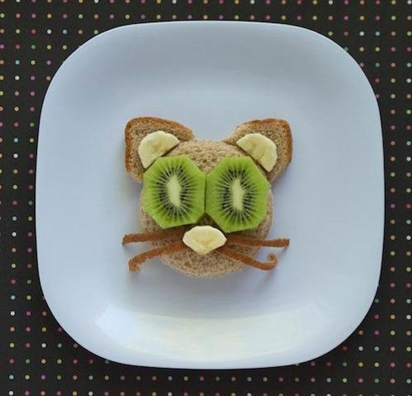 21 ý tưởng trang trí món ăn tuyệt vời cho bé 5