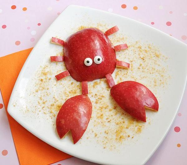 21 ý tưởng trang trí món ăn tuyệt vời cho bé 1