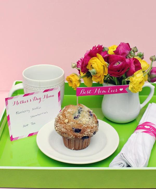 3 ý tưởng hết sức ngọt ngào cho Ngày của Mẹ 11