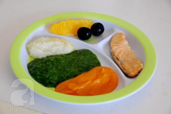 Thực đơn và cách chế biến đồ ăn dặm giai đoạn 7 tháng tuổi 12