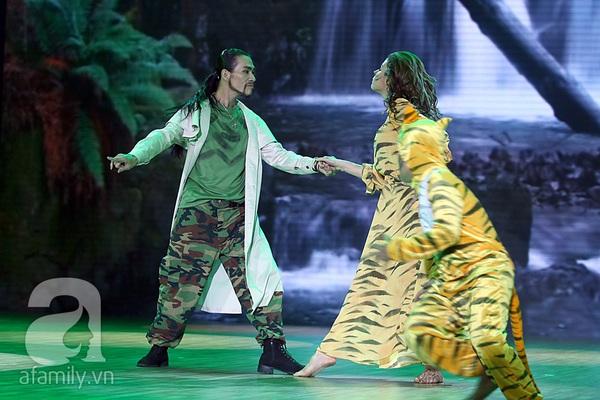 Angela Phương Trinh quyến rũ trong đêm mở màn Bước nhảy hoàn vũ 15