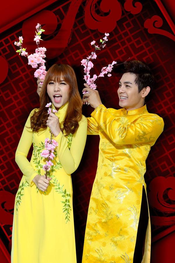 Hari Won mặc hanbok đáng yêu bên Sơn Ngọc Minh 4