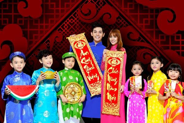Hari Won mặc hanbok đáng yêu bên Sơn Ngọc Minh 6