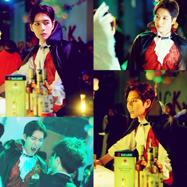 Park Hae Jin bất ngờ làm ma cà rồng siêu điển trai 1