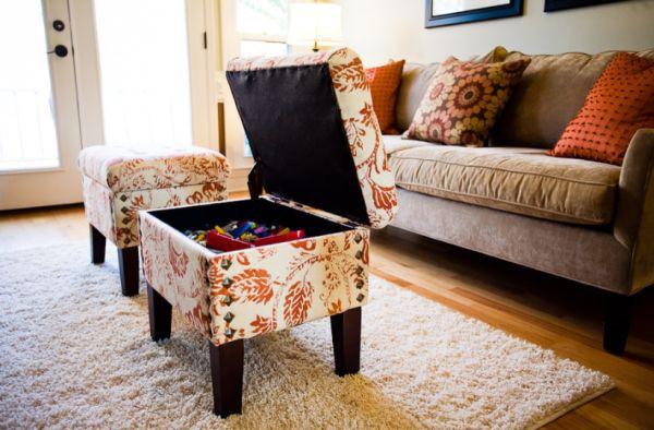 6 giải pháp tận dụng đồ nội thất thành nơi lưu trữ đồ đạc 3