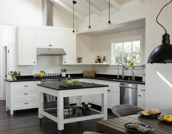 Bàn di động đa năng - nội thất tuyệt vời cho gian bếp nhỏ 9