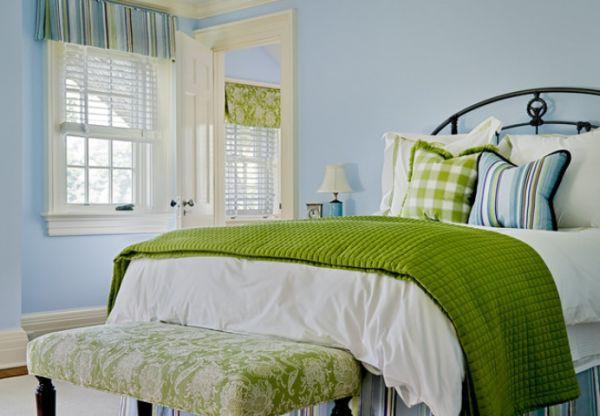 5 gợi ý phối đồ nội thất siêu đẹp với màu xanh lam 4