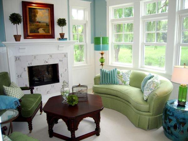 Mang không khí xuân vào nhà với màu xanh ngọc 2