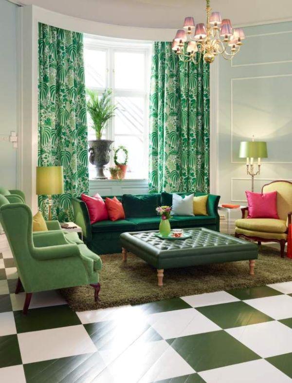 Mang không khí xuân vào nhà với màu xanh ngọc 1