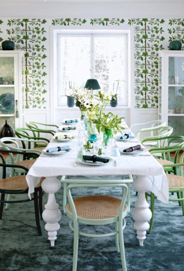 Mang không khí xuân vào nhà với màu xanh ngọc 4