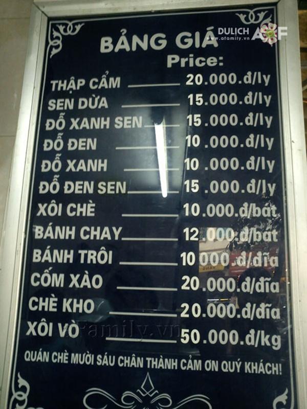 Những quán chè nườm nượp khách tại Hà Nội 4