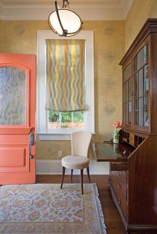 Mang sức sống đến cho căn nhà với màu cam đào 1