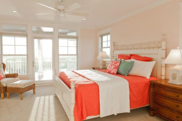 Mang sức sống đến cho căn nhà với màu cam đào 3