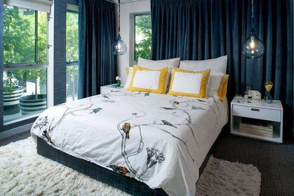Khám phá căn hộ được bài trí tuyệt đẹp với gam màu xanh lam 5